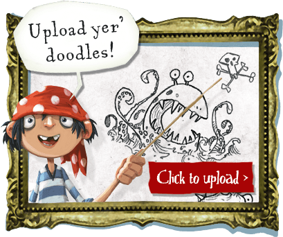 Upload yer' doodles. Click here to upload